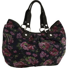 Totally scored this at TJ Maxx today for $20! A $99 bag for $20? Saweet! Lucky Brand - Soulful Floral Tote