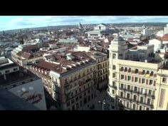 Walking in Madrid, Spain HD