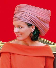 Princess Mathilde, July 21, 2006 in Fabienne Delvigne | Royal Hats