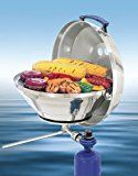 Magma Products, A10-205 Marine Kettle A10-205, Gas Grill, Original Size 15 Inches, Stainless Steel, Adjustable Control Valve