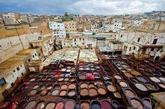 Curtumes de Fez