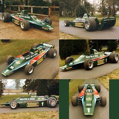 The Lotus 80 of 1979 was designed to work without wings, but ground effect was not big enough. Lotus F1, Slot Cars, Race Cars, Ground Effects, Martini Racing, Mclaren Mp4, Formula 1 Car, Courses, Le Mans