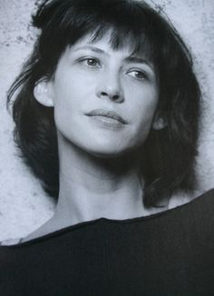 Sophie Marceau without makeup. So beautiful.