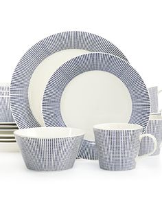 Shop Royal Doulton - Pacific Dinner Set at Peter's of Kensington. View our range of Royal Doulton online. Why in the world would you shop anywhere else for Royal Doulton? Modern Dinnerware, Square Dinnerware Set, Dinnerware Sets, Casual Dinnerware, Rustic Dinnerware, Royal Doulton, Elegant Dinner Party, Dinner Sets, Joss And Main