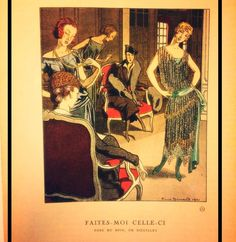 """""""La Gazette du Bon Ton"""" -1021-La Mamie de """"Vogue"""" (avec laquelle elle fusionna en 1925) #vogue#lagazettedubonton#vêtements #lesannéesfolles #womenswear #ecletique#artdeco#dipintoamano#illustration #illustrateurs#coloriéesàlamain#collaboration #paulpoiret#beaux-arts#metamorfosi#arte#artecontemporanea #contaminazioni#ispirazione#pickoftheday #modes#boulasworld#boulastyle"""