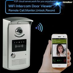 104.55$  Watch now - http://aliowk.shopchina.info/1/go.php?t=32739033144 - HD video peephole door camera ring wifi enabled video doorbell long range wireless video intercom home security alarm systems  #bestbuy