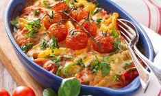 Krämig köttfärsgratäng med paprika recept