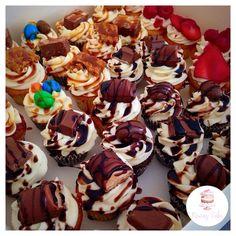 Minis cupcakes mix de parfums   Page Facebook nouraz cake Facebook nouraz sayoun Instagram @nourazcake