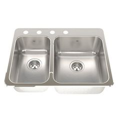 Oliveri - Sonetto Double Bowl Inset Sink - Sydney Taps | house ...