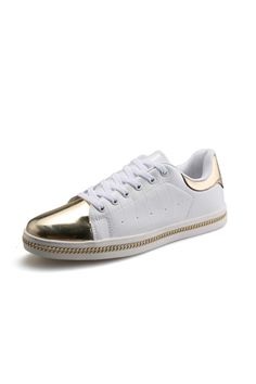 PF 631W Men's Popular Metallic Feel Spliced Casual Fashion Sports Shoes(White) | ราคา: ฿1,331.10 | Brand: Unbranded/Generic | See info: http://www.topsellershoes.com/product/57216/pf-631w-mens-popular-metallic-feel-spliced-casual-fashion-sports-shoeswhite