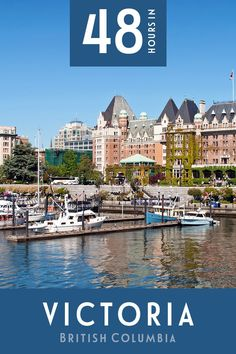 Hotel Bee - Travel tips and Travel Guides Victoria Canada, Victoria British Columbia, Cool Places To Visit, Places To Go, Canada Destinations, Visit Canada, Weekend Trips, Weekend Breaks, Whale Watching