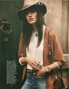 Photographed by Gregory Harris for Vogue Paris September 2014