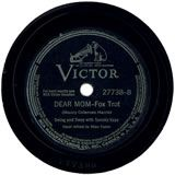 """""""Dear Mom"""". The song Papaw sang to the other Marines at night before they went to sleep."""
