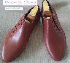 0350be02b277a Mens (or unisex) elegant casual shoe made with one piece of gorgeous Italian  leather. bespoke shoes australia