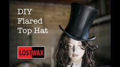 How To Make A Mad Hatter Top Hat- A DIY Tutorial and Pattern. Links to products used here: . Mad hatter tea party coming up? Want to be Caitlyn from League of Legends? Or just some steampunk awesomeness? In this video I will