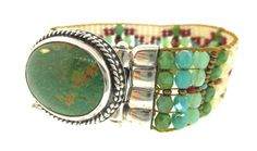 ICE JEWELRY - Chili Rose Aragon Geen Turquoise Bracelet, $795.00 (http://www.icejewelry.com/chili-rose-aragon-geen-turquoise-bracelet/)