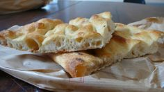 This type of bread is typical all over Italy, it is only called pizza bianca in Rome and of course the way that it is made and the way that it tastes is different in every region.