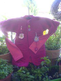 Pink gehäkelt Pink crochet