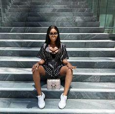 Doris Nkumah Aka Mizwanneka Takes LA In Style And Glamour