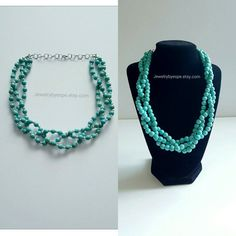 Hey, I found this really awesome Etsy listing at https://www.etsy.com/listing/285572351/turquoise-necklacestatement