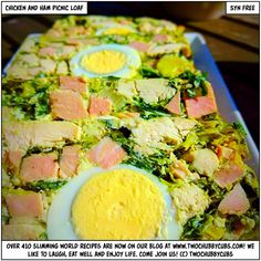 chicken and ham picnic loaf