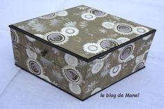 les cartonnages de Manel / la boite calisson Blog, Decorative Boxes, Home Decor, Cartonnage, Decoration Home, Room Decor, Blogging, Home Interior Design, Decorative Storage Boxes