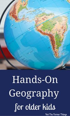 Hands-On Geography For Older Kids #handson #middleschool #highschool #learningdifferences #homeschool Continents Activities, Geography Activities, Geography Lessons, History Activities, Social Studies Activities, History Education, Teaching Social Studies, Teaching History, Geography Quotes
