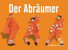 Image-Kampagne für die Berliner Stadtreinigung BSR - physische und kognitive Reize kombiniert