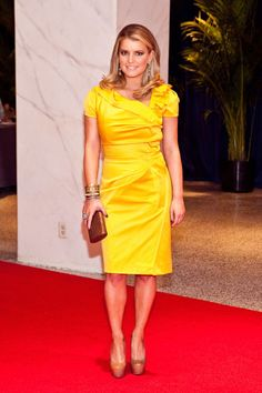 Jessica Simpson: Style FileJessica wore this bright and sunny ensemble for the 2010 White House Correspondents' Association Dinner.