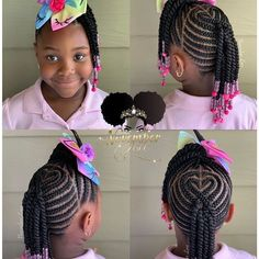 50 Kids Braids with Beads Hairstyles | Black Beauty Bombshells #blackbraidedhairstyles 50 Kids Braids with Beads Hairstyles | Black Beauty Bombshells