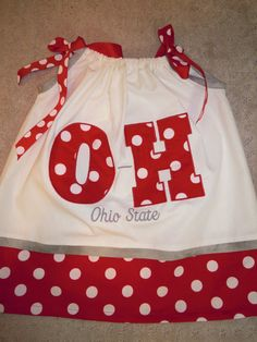 Ohio State Dress by TWINSANDQUINN on Etsy, $40.00
