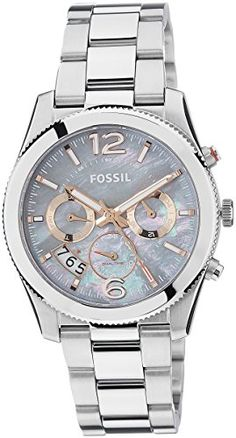 Now in stock Fossil Women's ES3880 Stainless Steel Bracelet Watch