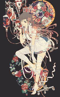 「三日月の女神」/「ボルボネ」のイラスト [pixiv]