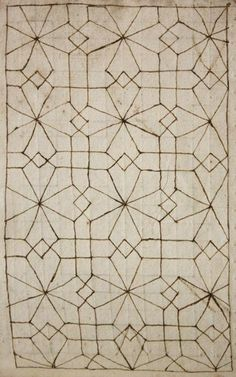 Architectural detail sketches from the 17th Century