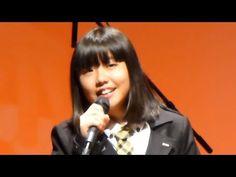 Press Awards Japão 2015 表彰式で歌うメリッサちゃん・・挨拶を日本語とポルトガル語でしました。