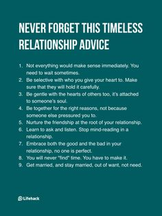 Understand these things to have a loving relationship. The sooner you learn these, the better.