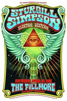 filling my need to hunt and gather. Sturgill Simpson, Rock Cover, Then Sings My Soul, Heavy Metal Rock, Expressive Art, Guitar Art, Concert Posters, Zeppelin, Music Notes