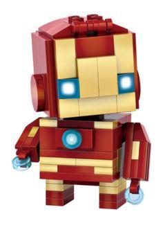 New 2016 LOZ Mini Blocks The Avengers Iron Man