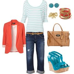 Bold & Bright, created by hasnija.polyvore.com