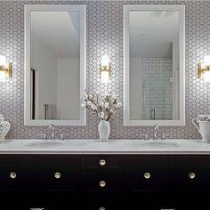 Top 70 Best Bathroom Backsplash Ideas Sink Wall Designs Vanity
