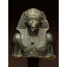 Head and upper torso of Seti I, Egyptian, New Kingdom, 1303-1200 BC, Dallas Museum of Art,
