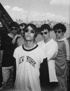Liam and Noel though. Liam Gallagher Oasis, Noel Gallagher, Liam And Noel, Oasis Band, El Rock And Roll, Band Wallpapers, Sibling Rivalry, Britpop, Wonderwall