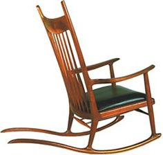 Sam Maloof Rocking Chair: most comfortable chair I've ever sat in.