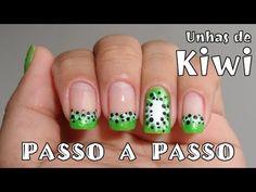 How to do Kiwi Nail Art