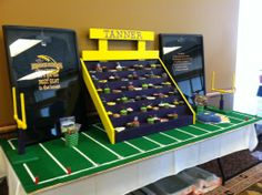 Tanners graduation party...so much fun putting together!