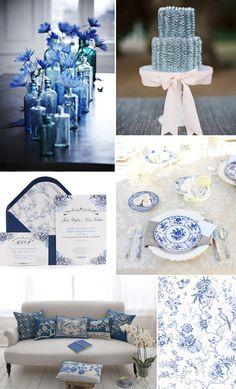 China Blue Wedding Inspiration