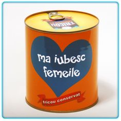 Cadouri, Tricouri Ma iubesc femeile Coffee Cans, Canning, Drinks, Food, Drinking, Beverages, Essen, Drink, Meals