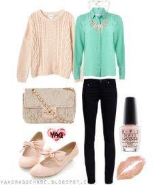 Y. A. Q. - Blog de moda, inspiración y tendencias: [Y ahora qué me pongo con] Una blusa color menta
