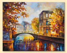 The River Of Memories  Limited Edition Autumn by AfremovArtStudio