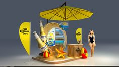Booth Activation Beer Corona on Behance